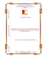 Nghiên cứu quá trình xây dựng hệ thống quản lý chất lượng ISO 9001 2008 tại công ty cổ phần bánh kẹo hải hà