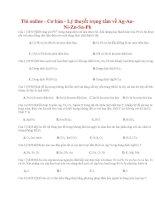 14 thi online   cơ bản   lý thuyết trọng tâm về ag au ni zn sn pb