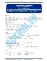 KG bai 7  dap an phuong phap bao toan nguyen to pdf