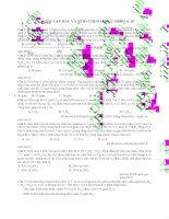 ĐỀ   bài tập HAY và KHÓ CHINH PHỤC điểm  9, 10