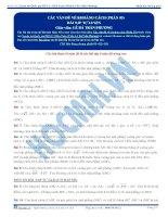 BTTL cac van de ve khoang cach phan 01 02 03