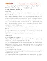 Giải bài tập trang 132 SGK Sinh học lớp 11: Tập tính của động vật (tiếp theo)