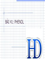 Bai 41 phenol
