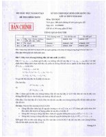 Kỳ thi chọn HSG quốc gia tin học lớp 12 THPT năm 2010