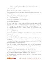 Giải bài tập trang 47 SGK Sinh lớp 6: Thân dài ra do đâu