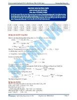 Bai 6  dap an bai tap phuong phap duong cheo TB pdf