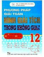 Phuong phap giai toan hinh giai tich trong khong gian 12 (NXB dai hoc quoc gia 2010)   le hong duc, 264 trang (NXPowerLite copy)