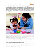 Học người Nhật cách chăm con khỏe mạnh phi thường