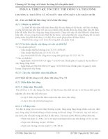 Chương 6:Thi công và tổ chức thi công kết cấu phần dưới