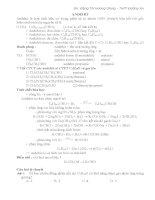 Các bài tập về anđehit (Có hướng dẫn giải) Luyện thi đại học