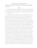 Bài văn tả cô giáo trong giờ tập đọc lớp 5
