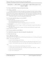 CHƯƠNG 7: THI CÔNG VÀ TỔ CHỨC THI CÔNG KẾT CẤU PHẦN TRÊN
