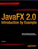 javafx 2.0 introduction by example