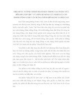 TIỂU LUẬN   một số tư TƯỞNG CHÍNH TRỊ cơ bản TRONG tác PHẨM sửa đổi lối làm VIỆC của hồ CHÍ MINH và ý NGHĨA của nó TRONG CÔNG CUỘC đổi mới HIỆN NAY