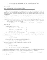 10 phương pháp giải nhanh hóa học THPT