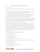 Giải bài tập trang 47 SGK Sinh lớp 9: ADN