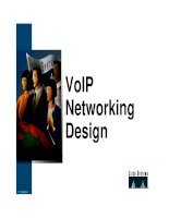 Cisco Systems - VoIP Networking Designed_Slides