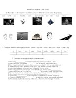 islcollective worksheets beginner prea1 elementary school listening activities with music blowing in the wind lyrics   d 581819876570d959a2814d5 91992767