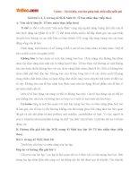 Giải bài tập trang 43 SGK Sinh học lớp 10: Tế bào nhân thực (tiếp theo)