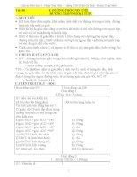 Giáo án Hình học 9 chương 3 bài 8: Đường tròn ngoại tiếpĐường tròn nội tiếp