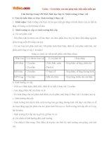 Giải bài tập trang 138 SGK Sinh học lớp 11: Sinh trưởng ở thực vật