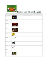 islcollective worksheets preintermediate a2 high school listening wor listen and fill in the grid 79324805355868104731926 58275074