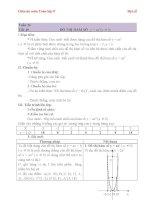 Giáo án Đại số 9 chương 4 bài 2: Đồ thị hàm số y=ax2