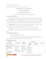 Đề thi giữa học kì 1 môn Ngữ văn lớp 6 trường THCS Trần Ngọc Hoằng, Cần Thơ năm 2016 - 2017