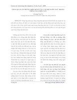 TỔNG QUAN VỀ NHỮNG BIẾN ĐỔI Ở CÁC CẤP ĐỘ NGÔN NGỮ TRONG TIẾNG NGA HIỆN NAY