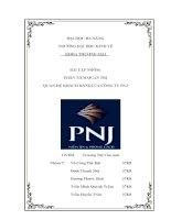 Quan hệ khách hàng tại PNJ