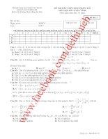Tổng hợp đề thi toán cao cấp ĐH Kinh tế TP HCM