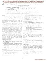 Tiêu chuẩn ASTM  a953 96  ;QTK1MY05NG