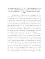 TIỂU LUẬN   tư TƯỞNG của mác và ENGHEN về mối QUAN hệ GIỮA NHỮNG NGƯỜI vô sản và NHỮNG NGƯỜI CỘNG sản TRONG tác PHẨM TUYÊN NGÔN ĐẢNG CỘNG sản