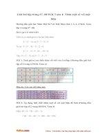 Giải bài tập trang 67, 68 SGK Toán 4: Nhân một số với một hiệu