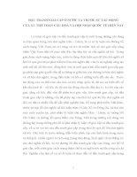 TIỂU LUẬN CHUYÊN NGÀNH   đấu TRANH GIAI cấp ở nước TA TRƯỚC sự tác ĐỘNG của XU THẾ TOÀN cầu hóa và hội NHẬP QUỐC tế HIỆN NAY