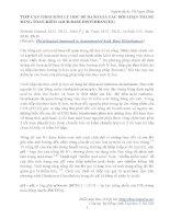 TIẾP CẬN THEO SINH LÝ HỌC ĐỂ ĐÁNH GIÁ CÁC RỐI LOẠN THĂNG BẰNG TOAN-KIỀM (AICD-BASE DISTURBANCES)