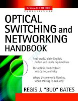 Optical Switching And Networking Handbook Mcgraw-Hill