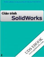 Bài giảng thiết kế kỹ thuật, GIÁO TRÌNH solidworks nguyen hong thai