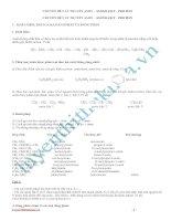 Lý thuyết và bài tập trắc nghiệm chuyên đề amin aminoaxit protein