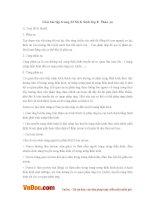 Giải bài tập trang 23 SGK Sinh lớp 8: Phản xạ