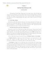 CHƯƠNG 3 THIẾT KẾ MÔ HÌNH CHI TIẾT ( Part model)