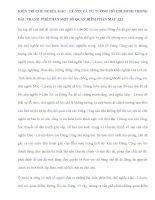 TIỂU LUẬN   KIÊN TRÌ CHỦ NGHĨA mác   lê NIN, tư TƯỞNG hồ CHÍ MINH TRONG đấu TRANH PHÊ PHÁN NHỮNG QUAN điểm PHẢN mác xít HIỆN NAY