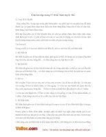 Giải bài tập trang 17 SGK Sinh lớp 8: Mô