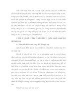 TIỂU LUẬN   NHỮNG vấn đề cơ bản và cấp THIẾT của CHIẾN TRANH TRONG THỜI đại NGÀY NAY