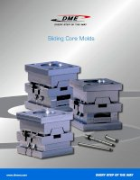 Sliding Core Molds- DME every step of the way