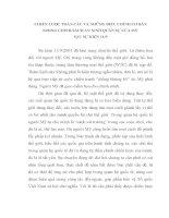 TIỂU LUẬN QUAN hệ QUỐC tế   CHIẾN lược TOÀN cầu và NHỮNG điều CHỈNH CHÍNH SÁCH QUAN sự AN NINH của mỹ SAU sự KIỆN 11 9