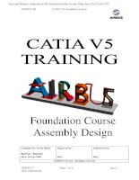 catia v5 training airbus Foundation Course assembly design