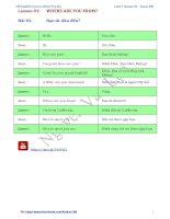 100 đoạn hội thoại thông dụng (anh   việt)