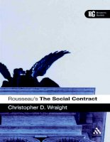 Rousseau 039 s  039 The Social Contract 039  A Reader 039 s Guide Continuum Reader 039 s Guides