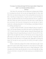 TIỂU LUẬN    tư TƯỞNG về CON ĐƯỜNG CÁCH MẠNG VIỆT NAM TRONG tác PHẨM ĐƯỜNG CÁCH MỆNH của CHỦ TỊCH hồ CHÍ MINH và sự vận DỤNG của ĐẢNG TA HIỆN NAY
